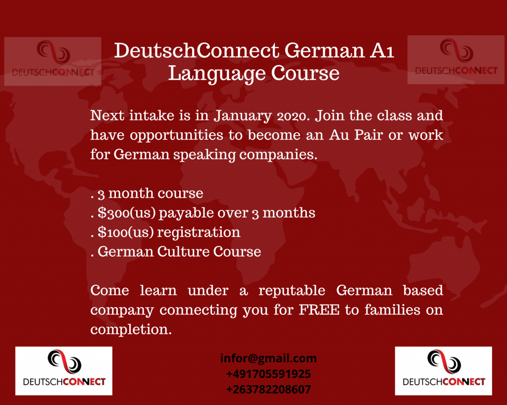 Upcoming 2020 Program Register for Deustch-Connect A1 Language Course